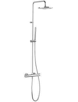 Design Thermostatic Shower Valve With Head And Handset