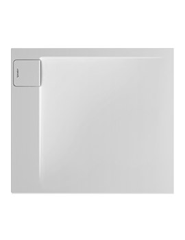 P3 Comforts 900 x 800mm Corner Left Shower Tray