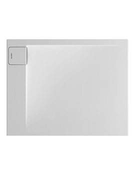 P3 Comforts 1000 x 800mm Corner Left Shower Tray - 720155