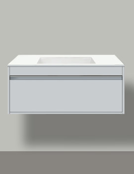 Ketho 800mm 1 Compartment Unit For Undercounter Basin