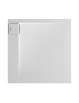 P3 Comforts 900mm Corner Left Square Shower Tray