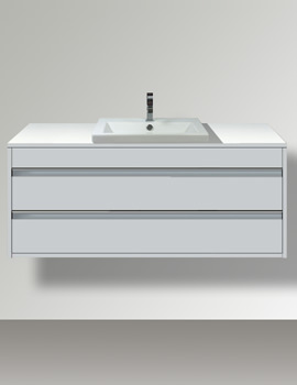 Ketho 800mm 2 Drawers Unit For Vanity Basin
