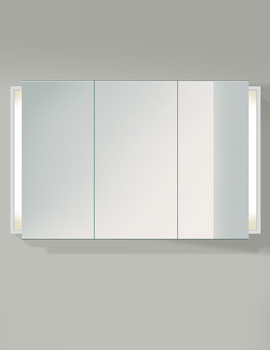 Ketho 1200mm 3 Door Mirror Cabinet - KT753301818