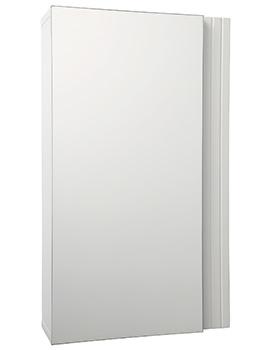 Croydex White Single Door Cabinet 350 x 600mm - WC410122