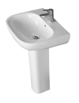 Lily 550mm Basin With 1 Tap Hole