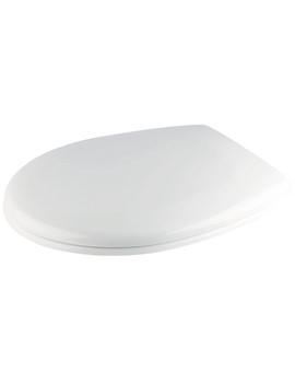 Croydex Towan Sandstone Soft Close Urea Toilet Seat - WL400430H