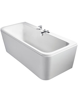 Related Ideal Standard Tonic II Idealform D-Shape 1800mm Bath With Filler Waste