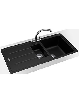 Basis Propack BFG 651 Fragranite Onyx Kitchen Sink And Tap