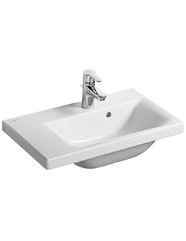 Concept Space 600mm Basin With Left Hand Platform