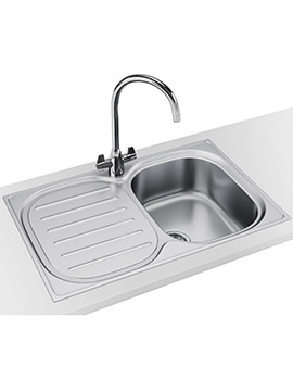 Compact Plus DP CPX P 611 780 Stainless Steel Sink And Tap