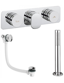 Dial - Pier Bath Valve With Deck Mounted Handset And Filler