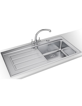 Related Franke Epos Propack EOX 611 Stainless Steel Kitchen Sink And Tap