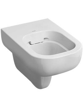Twyford E500 Rimfree Flushwise Wall Hung WC Pan 540mm - E51798WH