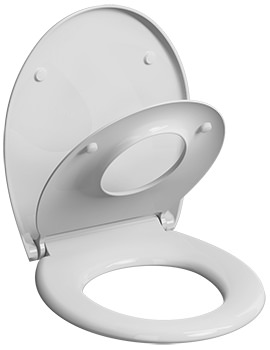 Twyford E100 Soft Close Family Toilet Seat With Quick Release Hinge