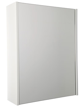 Croydex Aldford Single Mirror Door Cabinet - WC710122