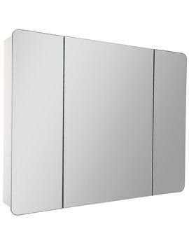 Croydex Ryton Triple Door Tri-View Cabinet - WC710322