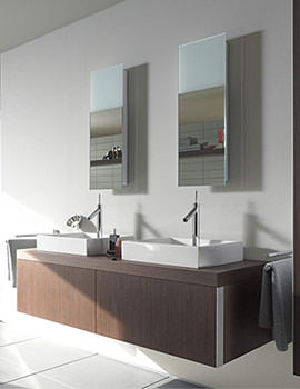 Starck Mirror With Lighting 292mm x 850mm