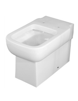 Essential Orchid BTW Toilet Pan With Soft Close Seat