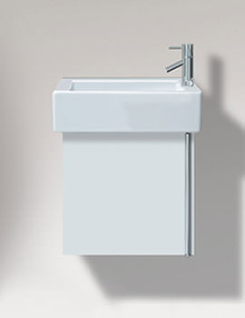 Vero 450mm Single Door Vanity Unit And 500mm Basin