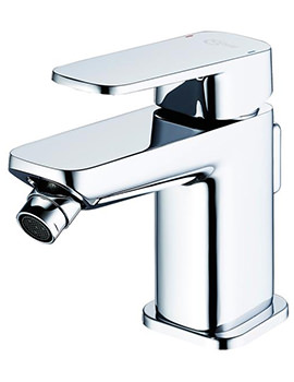 Tonic II Single Lever Bidet Mixer Tap With Pop-Up Waste