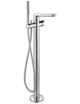 Tonic II Freestanding Bath Shower Mixer Tap With Handspray