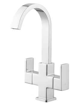 Storm Basin Mixer Tap With Click Clack Waste