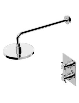 Essential Niagra Thermostatic Dual Control Mixer Shower