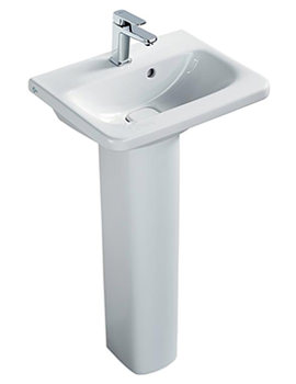 Tonic II 520mm 1 Taphole Mini Vanity Washbasin