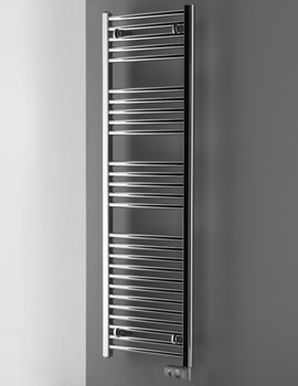 Electric Towel Warmer Chrome 480 x 1375mm
