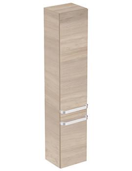 Ideal Standard Tonic II 350mm Light Brown Wood 2 RH Doors Column Unit