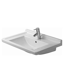 Starck 3 700mm 1 Taphole Furniture Washbasin - 0304700000