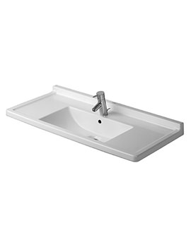 Starck 3 1050mm 1 Taphole Furniture Washbasin - 0304100000