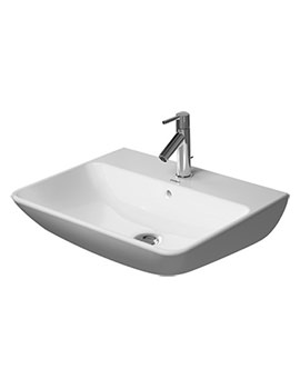 ME By Starck 600mm 1 Taphole Washbasin - 2335600000