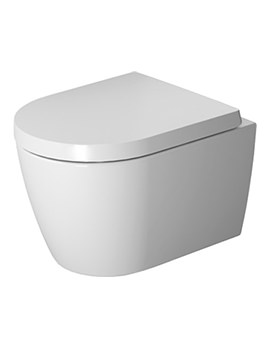 Duravit ME By Starck Rimless Compact Wall Mounted WC - Image