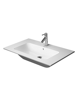 ME By Starck 830mm 1 Taphole Furniture Washbasin - 233683