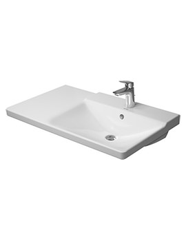 P3 Comforts 850mm Bowl On Right Asymmetric Basin - 233485