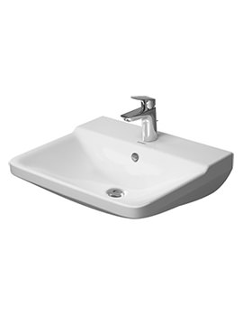 P3 Comforts 550mm 1 Taphole Washbasin - 2331550000