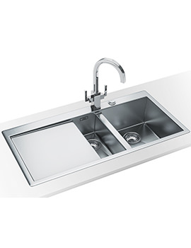 Planar Slim-Top DP PPX 251 Stainless Steel Kitchen Sink And Tap