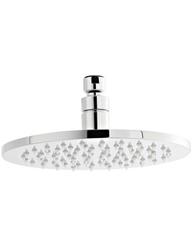 200mm Round LED Fixed Shower Head - STY069