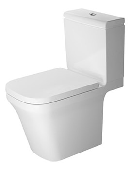 P3 Comforts Rimless Close Coupled Toilet With Cistern