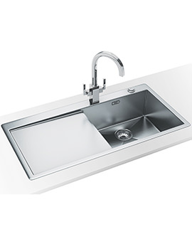 Planar Slim-Top DP PPX 211 Stainless Steel Kitchen Sink And Tap