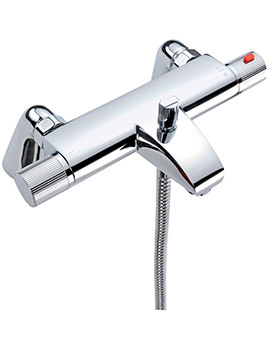 Venice Thermostatic Deck Mounted Bath Shower Mixer Tap