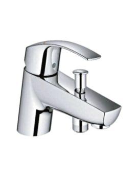 Eurosmart Single Lever Bath Shower Mixer Tap Chrome