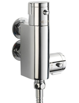 Logic Vertical Exposed Thermostatic Bar Shower Valve