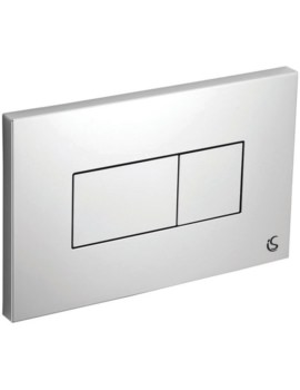 Karisma Dual Flush Plate With Logo