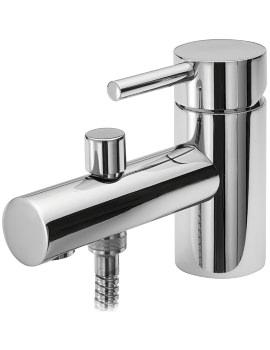 Piazza Monobloc Bath Shower Mixer Tap And Kit