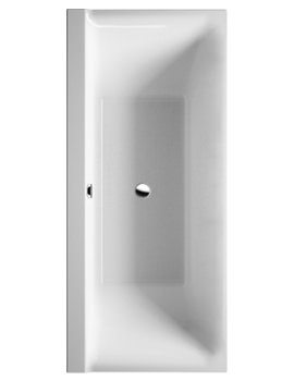 P3 Comforts 1900x900mm Bath With 2 Backrest Slope - 700378