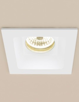 Calibre Warm White Square LED Showerlight