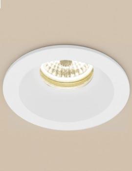 Calibre Warm White Round LED Showerlight