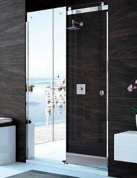 10 Series 1200mm Mirror Sliding Shower Door